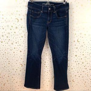 American Eagle | Kick Boot Dark Wash Boot Cut Jean